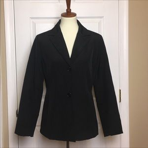 Andrew Marc Short Black Trench Coat Small